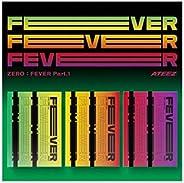 ATEEZ 5th Mini Album Zero Fever Part 1 (Incl. Pre-order benefit (Folded Poster), Random ATEEZ Acrylic Photocar