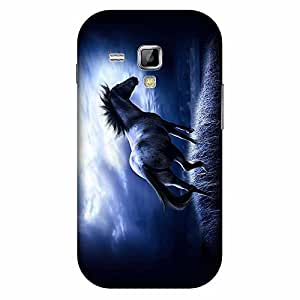 Bhishoom Designer Printed Back Case Cover for Samsung Galaxy S Duos S7562 (Horse :: Animal :: Wallpaper :: Poster :: Artistic)