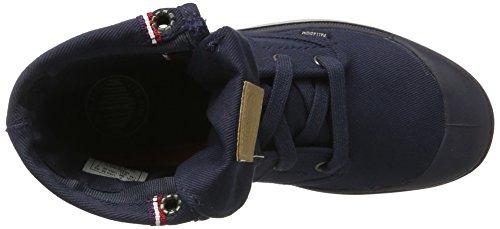 Palladium Pallabrouse Bgy Conv, Hohe Sneakers  Mixte Adulte Bleu (Parisian Night/silver Lining)