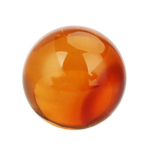 Kicode Mode-Fotografie-Requisiten Feng Shui Glaskugel Globus Kugel - Quarz-kristall-globus