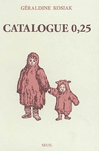 Catalogue 0,25