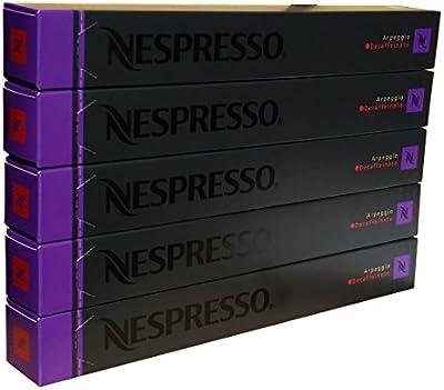 50 Nespresso Capsulas Café Arpeggio Decaf