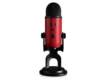 Blue Microphones Yeti USB Satin Red Mikrofon