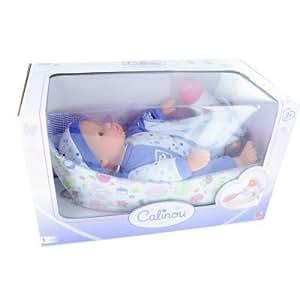 Bébé dans son couffin sans anses : Violet