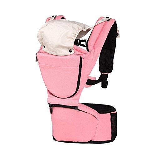 Babybauchtragen Rückentrage Baby Carrier Babytrage Kindertrage mit gepolsterten Sitz