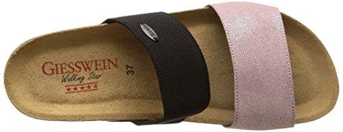 Giesswein Damen Viverone Pantoletten Pink (rose-386)