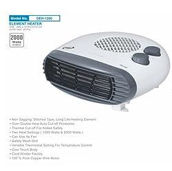 Orpat Room Heater Fan OEH-1260 2000-Watt
