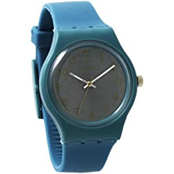 Lorenzo Women's | Ocean Blue Silicone Band Watch | LZ03