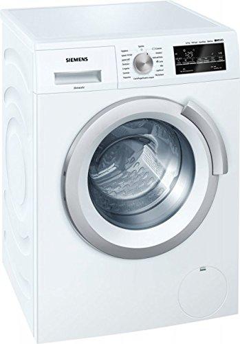 Siemens IQ500ws12t447it autonome Belastung Bevor 6.5kg 1200tr/min A + + + Weiß Waschmaschine–Waschmaschinen (autonome, bevor Belastung, weiß, links, LED, 46l)