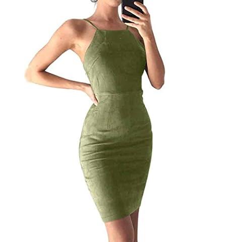 Xinantime , Chaussures premiers pas pour bébé (fille) vert Green L