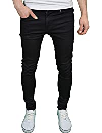 080256f78994 Enzo Mens Designer Branded Super Stretch Skinny Fit Jeans