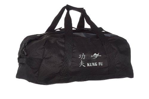 Kindertasche schwarz Kung Fu