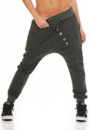"""Malito Pantaloni Boyfriend """"Tejer"""" Design"""