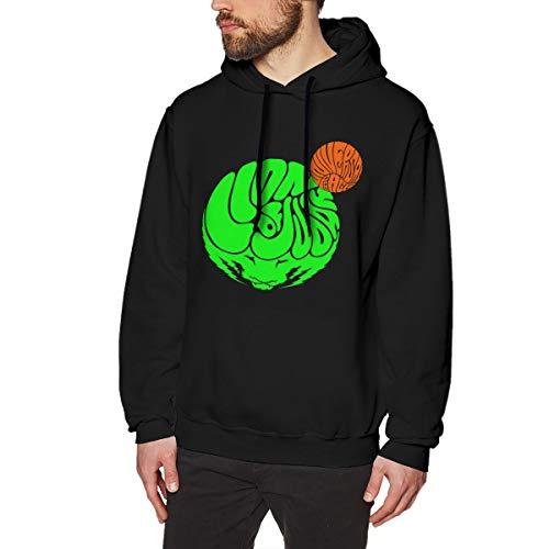 Harrisontdavison Herren Baumwolle Graphic Hoody Lustiges Sarkastisches Youngblood Black Langärmliges Sweatshirt L -