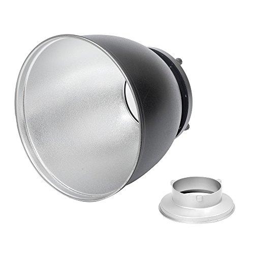 Pixapro® 65° Hochleistungs-Magnum Maxlite Reflektor mit Bowens S-Typ-Armatur * Schnelle Lieferung * UK Lager * Umsatzsteuer registriertes... (65°, transparent Bowens S-Typ)