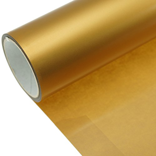 Poliflex Poli-Flex Premium FLEXFOLIE BÜGELFOLIE 50 cm x 1 m (420 Gold Metallic)