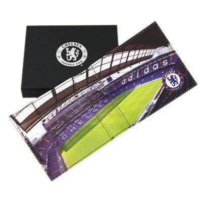 Chelsea F.C. Embossed Leather Wallet Panoramic 801 by Chelsea F.C.