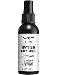 NYX - Spray fixant maquillage professionnel - Dewy Finish