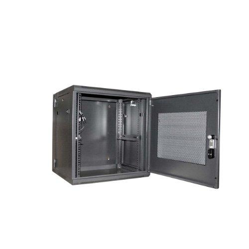 Deals For StarTech.com 12U 19 inch Hinged Wall Mount Server Rack Cabinet with Steel Mesh Door Special