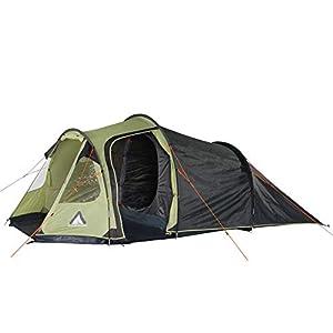 10T Zelt Mandiga für 3, 4 oder 5 Personen & div. Farben zur Wahl, wasserdichtes Tunnelzelt, 5000mm Campingzelt…