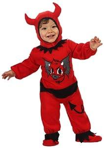 Atosa-10299 Disfraz Demonio, color rojo, 6 a 12 meses (10299)