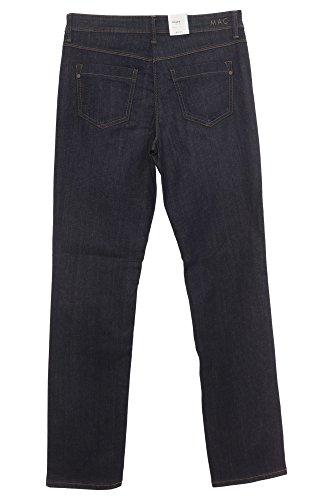 MAC Damen Straight Leg Jeanshose Angela d812 dark blue used