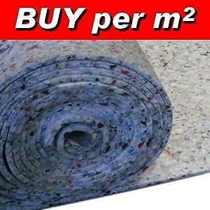 West Derby Carpets Online Rouleau de thibaude en mousse PU 12 mm