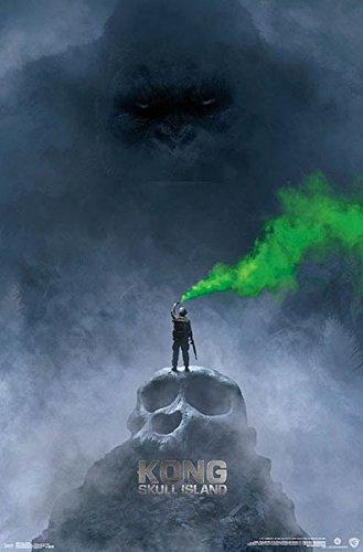 Póster Kong: La Isla Calavera. Portada