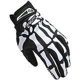 Tonsee® Sport Cyclisme vélo moto crâne squelette Goth OS complet Finger Glove (M)