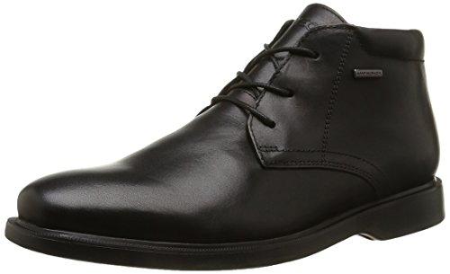 Geox U Brayden 2Fit Abx D - Stivali Desert Boots Uomo, Nero (Blackc9999), 43 EU