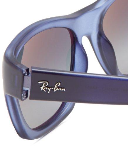 Ray-Ban - Lunette de soleil Rb4194 RB4194 Wayfarer BLUE DEMI GLOSS (BLUE DEMI GLOSS)