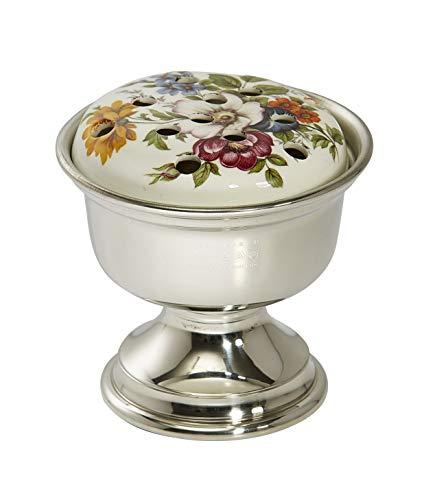 Wentworth en étain - décoratifs Pot-pourri Bol, Bol de Rose, en CÉRAMIQUE et en étain Pot-pourri Support