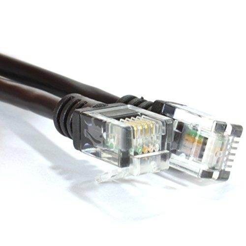 ADSL 2 + Hoch Geschwindigkeit Breitband Modem Kabel RJ11 Zum RJ11 2 m Schwarz