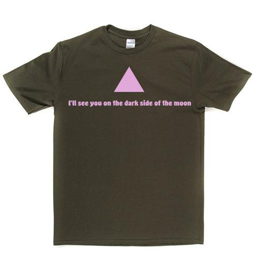 Dark Side Of The Moon Legendary Track Song Title T-shirt Militärgrün