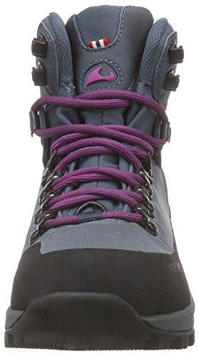 Viking Gaupe Textile Gtx, Bottines de randonnée femme Gris - Grau (Petrol/Lilac 5517)