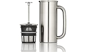 ESPRO 1132C2 Coffee Press P7 32 oz, Vacuum Insulated, Brushed Stainless Steel, 1 Liter