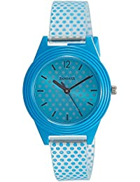 Sonata Analog Blue Dial Girls Watch-87024PP04