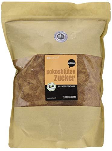 Wohltuer Bio Kokosblütenzucker, 1er Pack (1 x 2 kg) - Weiße Kokos-tee
