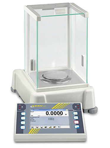 State-of-the-art premium touchscreen analytical balance [Kern AET 500-4] With the complete range of functions for demanding processes, Weighing Range [Max]: 510 g, Readout [d]: 0,1 g, Reproducibility: 0,2 g, Linearity: 0,5 g - Analytical Balance
