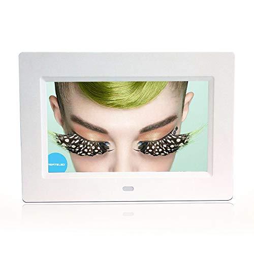 FLYWM Elektronisches Album 7-Zoll-Ultra-dünnen HD Foto Frame Videoanzeige Rahmen elektronischer digitalfotorahmen