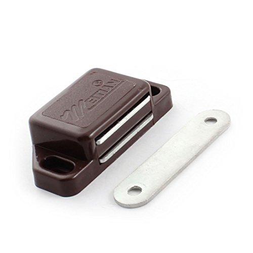 Schrank Tür braun Metall Einzel Magnetic Catch Latch 58 mm Länge -
