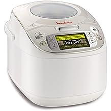 Moulinex Maxichef Advanced MK8121 - Robot de cocina, 750 W, capacidad de 5 l, tecnología de micropresión, inicio programable y función de mantener en caliente