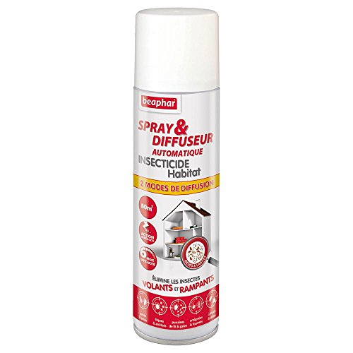 Beaphar - Spray/Diffuseur Automatique insecticide pour...