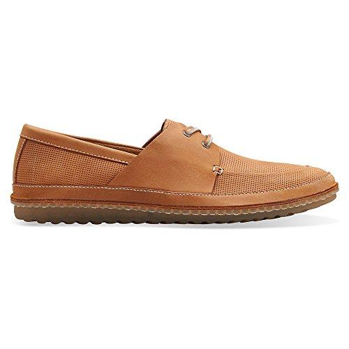 Clarks transplantierten Sail Oxfords Schuhe Tan