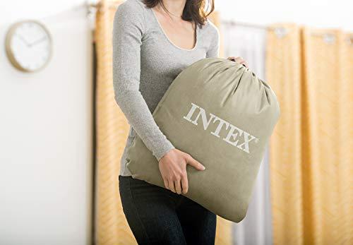 Intex 12-66810NP Kidz Travel Bed Set, phthalates-free mit Handpumpe, 107 x 168 x 25 cm (Mint Grün) - 6