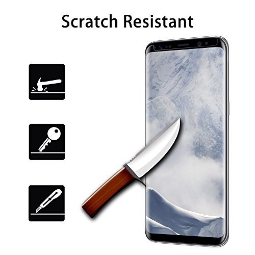 Preisvergleich Produktbild Samsung Galaxy S8 Plus Schutzfolie,3D Full Coverage Panzerglas Glas Displayschutzfolie Schutzglas Displayschutz Screen Protector für Samsung Galaxy S8 Plus