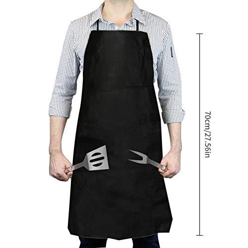 416 N t7adL - WisFox Grillbesteck, Edelstahl Grill Zubehör 28 Teiliges Barbecue Grill Zubehör Set BBQ Utensilien in Aluminium Aufbewahrungskoffer