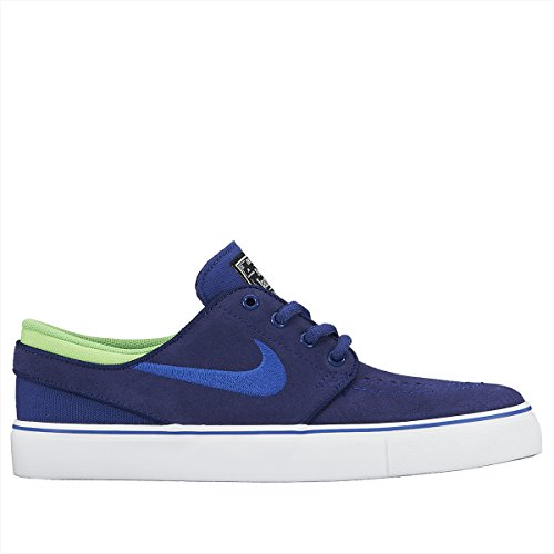 Nike Stefan Janoski (GS), Zapatillas de Skateboarding Niños, Azul / Verde / Blanco (Dp Ryl Bl / Gm Ryl-Grn Strk-Whit), 37 1/2