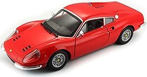Ferrari - Dino 246 GT, vehículo (Bburago 18-26015)