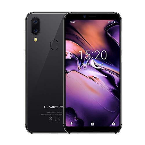 UMIDIGI A3 Smartphone, 5.5' Doble 4G LTE Teléfono Móvil, 18:9 Pantalla Infinita, Android 8.1 Quad Core 2GB+16GB, 3...
